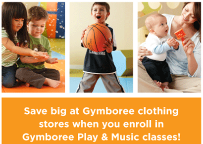 gymboree free class coupon