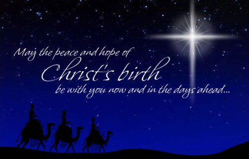 May You All Have a Wonderfully Blessed Christmas!