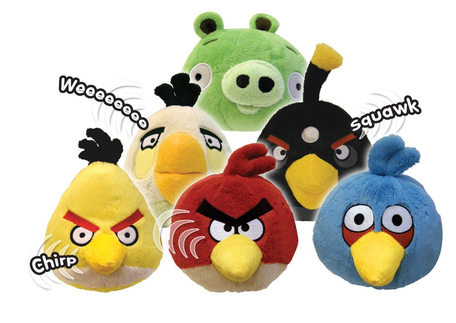 Angry Birds Plush Toys With Sounds Just 3 99 Down From 11 99