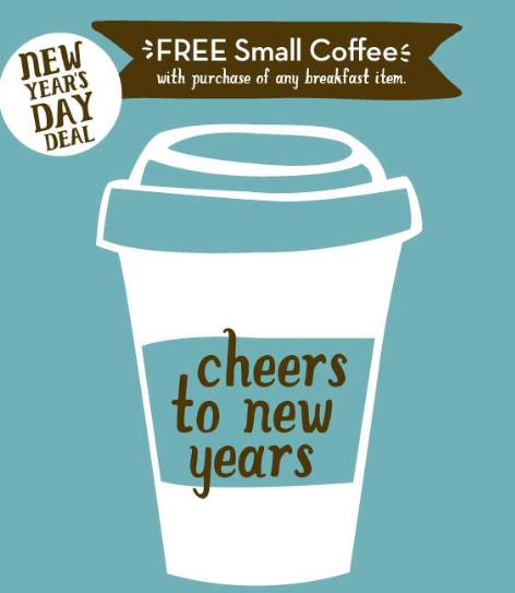 Caribou Coffee New Year S Coupon Free Small Coffee With