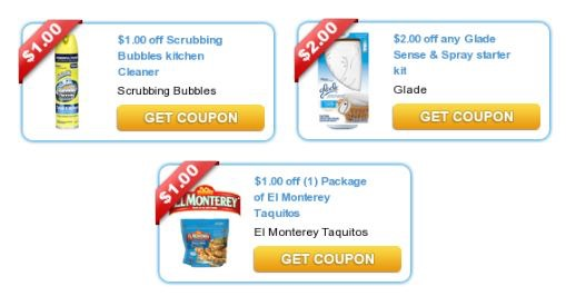 cleaning and grocery coupons