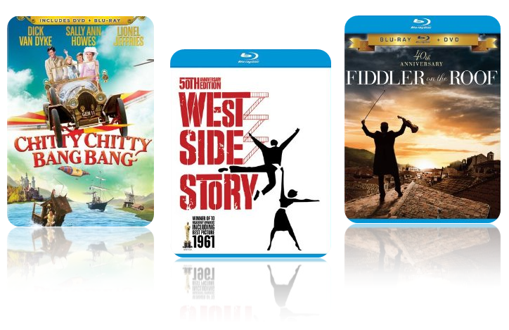 Amazon Musical Blu Ray And Dvd Sets Starting At 8 99