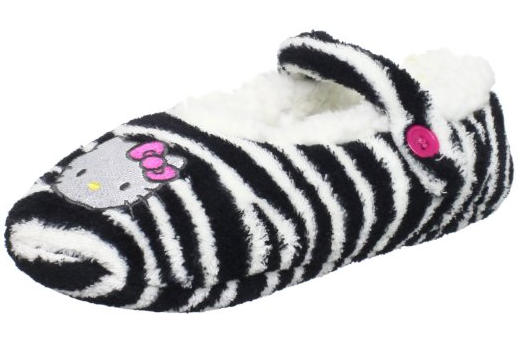 48a22344a Hello Kitty Women's Fuzzy Slippers Only $3.75 (down from $12)!