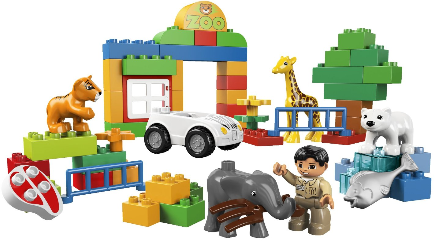 LEGO Duplo My First Zoo $16 (down from $24.99)!