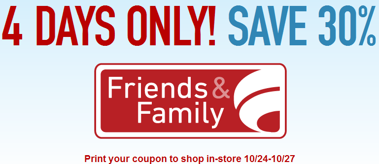 picture about Famous Footwear Printable Coupons in Store referred to as Famed Shoes Pals Family members 30% off Printable Coupon!