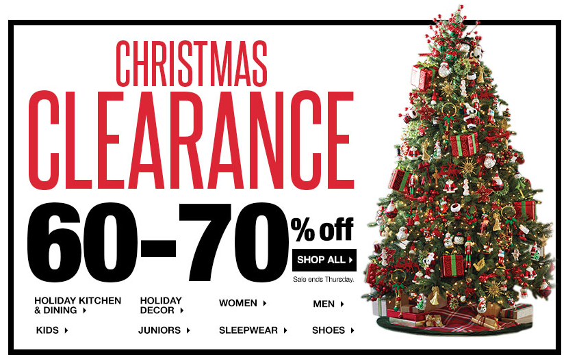 Kohl S After Christmas Sale 2013 Items Starting As Low As 1 20