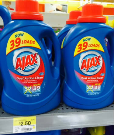 Ajax Laundry Detergent Just 50 At Walmart With New Printable Coupon