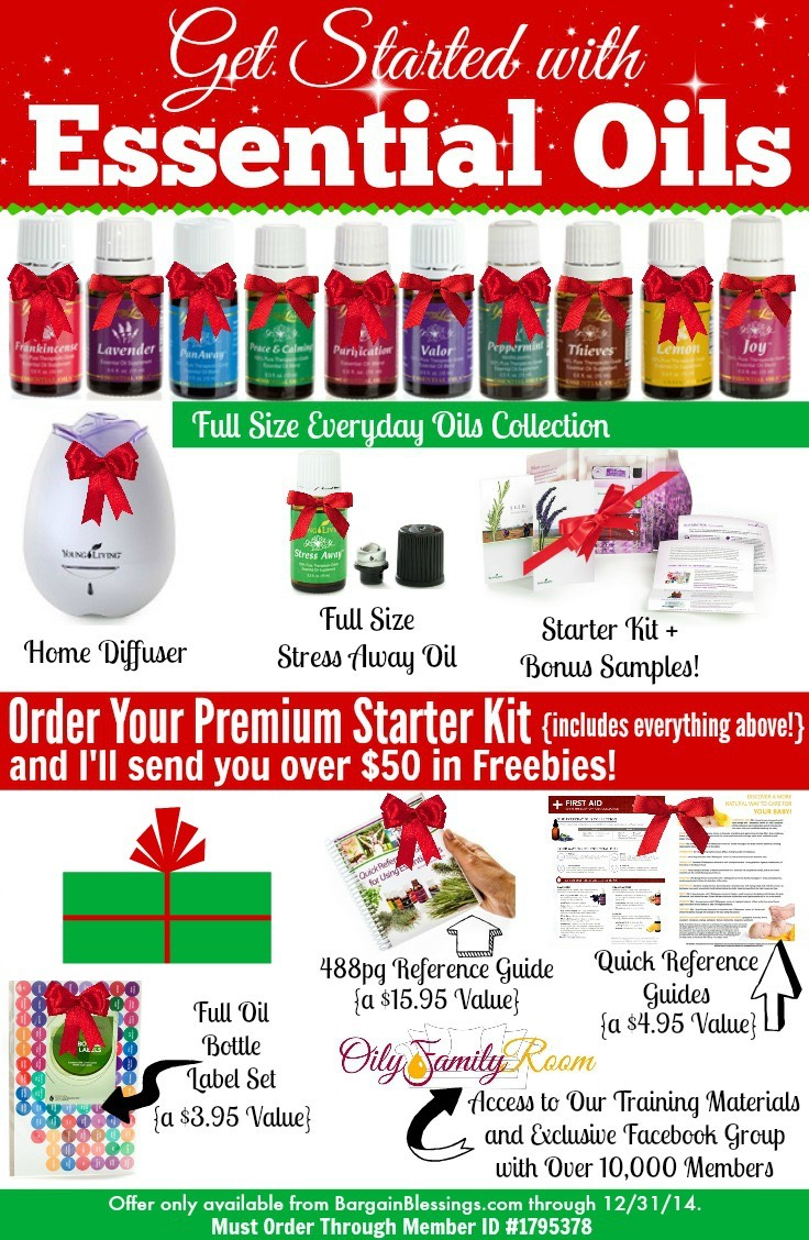 Essential Oils Christmas Deal: Young Living Premium Starter Kit + ...