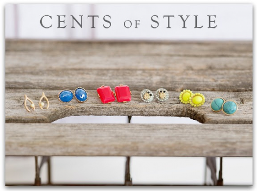 cents-style-stud-earring-sale