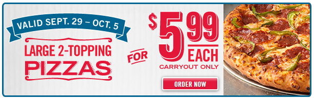 dominos carryout deal