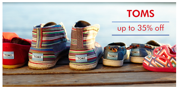 864e001e256 TOMS Shoe Sale on Zulily + FREE Shipping on Orders Over  65!