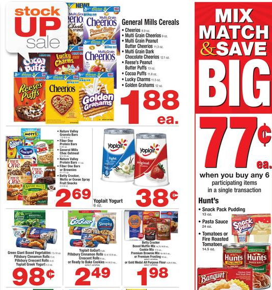 albertsons stock-up sale