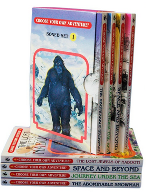 choose-your-own-adventure-book-set